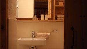 """gemütliches Studio """"klein-fein"""" Badezimmer von unserem Studio """"klein-fein"""" wurde mit viel Liebe zum Detail geschaffen"""