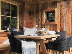 Chalet Tannenhof Lermoos Tiroler Zugspitzarena Appartement mit Terrasse und Garten