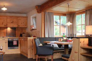 Chalet Tannenhof - Panorama-Chalet-Appartement mit Blick zur Zugspitze